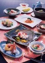 【中国料理グレードアップコース】テレビや雑誌の取材も多い中国料理。たまには中国料理もオススメです