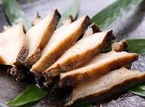 【甲州名物 鮑の煮貝(オプション)】鮑のコリコリとした食感と旨味が凝縮されたちょっと贅沢な逸品