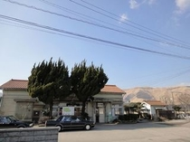 JR赤水駅(白雲山荘の最寄り駅)