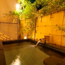 露天風呂(男女入替制)の一例