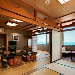 オーシャンビュー特別室「月光 GEKKOU」二間続き客室