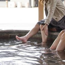 輪島温泉の足湯「湯楽里」