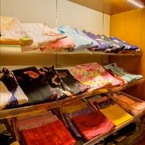 レンタル色浴衣(有料)