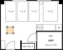 ●フォースベッドルーム平面図