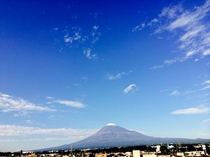 2014年10月25日富士山