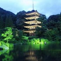 ■瑠璃光寺五重塔