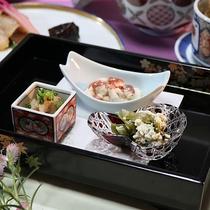 季節の前菜【薩長会席】