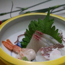 季節の会席料理【夏】お刺身
