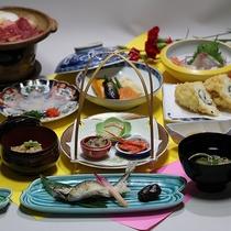 季節の会席料理【夏】