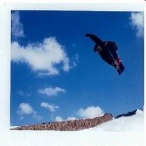 ボードのジャンプ
