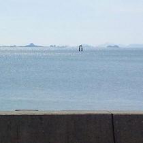 晴れた日の八代海