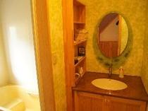 鏡は各部屋オリジナル
