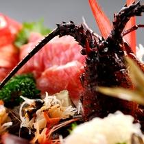 【料理】季節の夕食一例(季節のお造り)