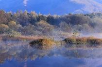 晩秋の小野川湖
