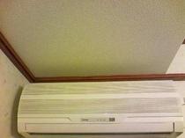 個別空調/お部屋で好みの温度に調整可能です。