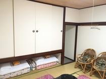 【禁煙】和室8畳(バス・トイレなし)3~4名様利用