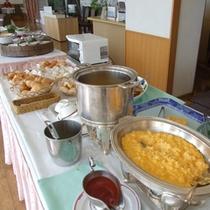 【ご朝食】地産地消にこだわった和洋バイキングです!