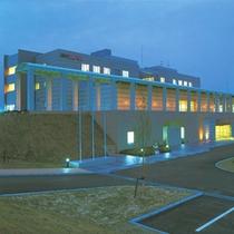 【外観】熊本へのビジネス、観光に便利!「阿蘇くまもと空港」に一番近いホテルです。