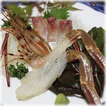 【季節の会席料理】 一品料理 鳥取松葉蟹お刺身(冬限定)