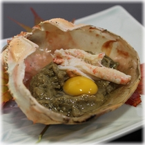 【季節の会席料理】 一品料理 鳥取松葉蟹みそ(冬限定)