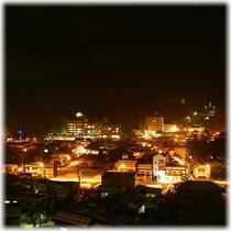 【客室】 温泉街側 夏の夜景