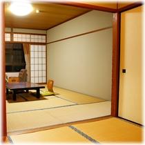 【客室】 山側 10畳+2畳 ⑥