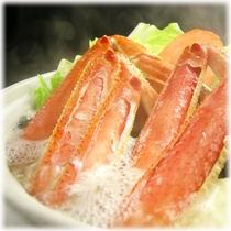 【季節の会席料理】 ずわい蟹鍋(冬限定)