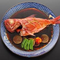*じっくり煮込んだ自慢の逸品!金目鯛煮つけ