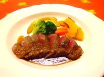 伊豆牛ステーキ。