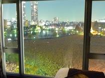 パークビューマノラマツインからの夜景