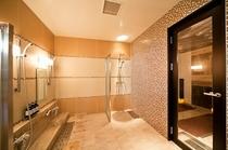 2F女性大浴場洗い場