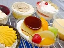朝食 ドンレミーのケーキ食べ放題です!