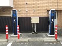 電気自動車エコスタンド