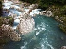 ここも仁淀川 支流の岩屋川