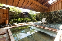 山側 露天風呂