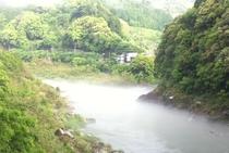 霧の仁淀川in仁淀川町大崎地区