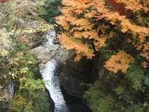 安居渓谷の秋画像9
