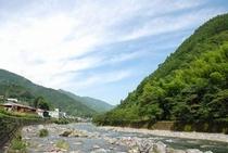 質では日本の中でもかなり上位の仁淀川支流 土居川