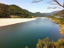 仁淀川フォト!いの町~仁淀川 川幅も広くゆったり!カヌー体験ができる