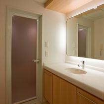 【客室】コーナーツインルーム 洗面
