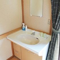 ■清潔感のある洗面台 101号室