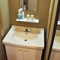■清潔感のある洗面台 205号室