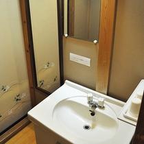 ■清潔感のある洗面台 206号室