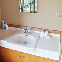■清潔感のある洗面台 203号室