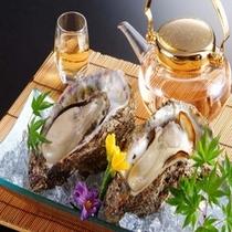 【夏 料理一例】天然の岩ガキ