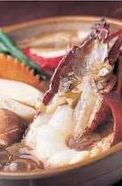 伊勢海老の煮味噌鍋