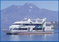 野尻湖遊覧船