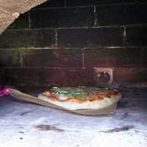本格石窯ピザ焼き体験♪