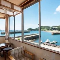 和室18畳(角部屋)からの眺め