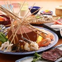 My天ぷらコースの一例